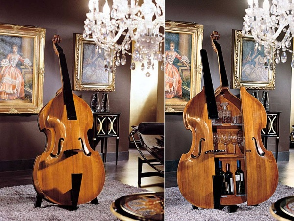 Classic-Bar-Cabinet-in-Cotrabass-7 Beautiful Double Bass Wine Cabinet