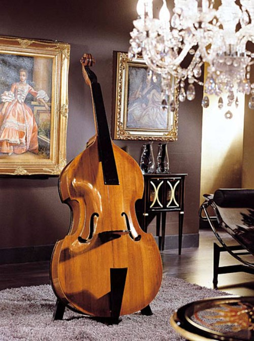 home-contrabass-bar-1 Beautiful Double Bass Wine Cabinet