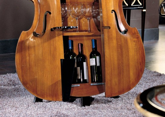 home-contrabass-bar-3-554x392 Beautiful Double Bass Wine Cabinet